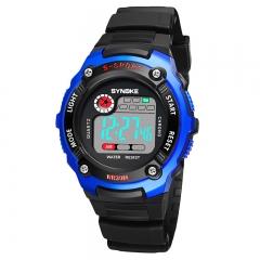 Kids Watch Digital Wristwatches Countdown Time Alarm Chrono Boy Girl Clock Waterproof Children Watch Blue