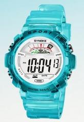 Digital Children Watch Kids Watches Girl Boy Clock Child Wrist Watch Digital-watch for Girl Boy Gift Large blue