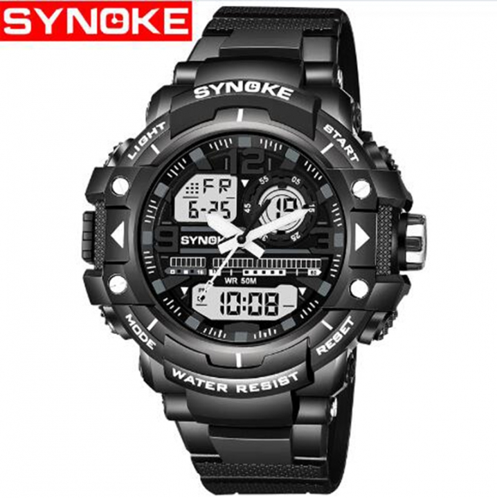 sports multifunction electronic watches Digital Watch for men waterproof watch men clock black one size