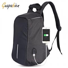 Guapabien Multifunction Travel USB Port Backpack for Men black one size