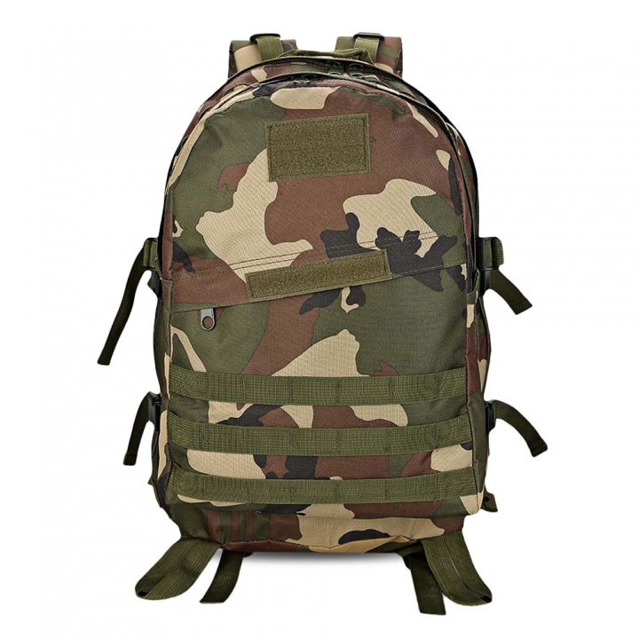 Guapabien Casual Waterproof Wear Breathable Sports Shoulder Backpack jungle camouflage one size