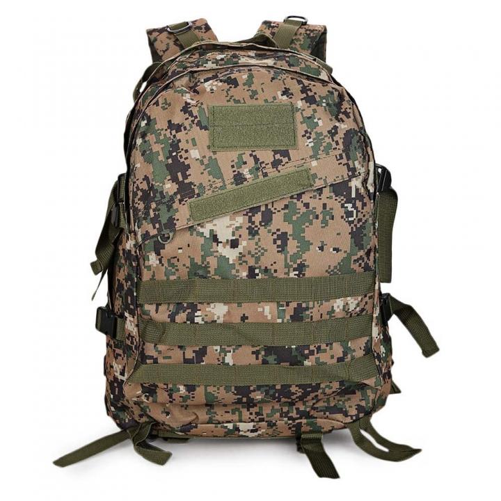 Guapabien Casual Waterproof Wear Breathable Sports Shoulder Backpack digital jungle camou one size