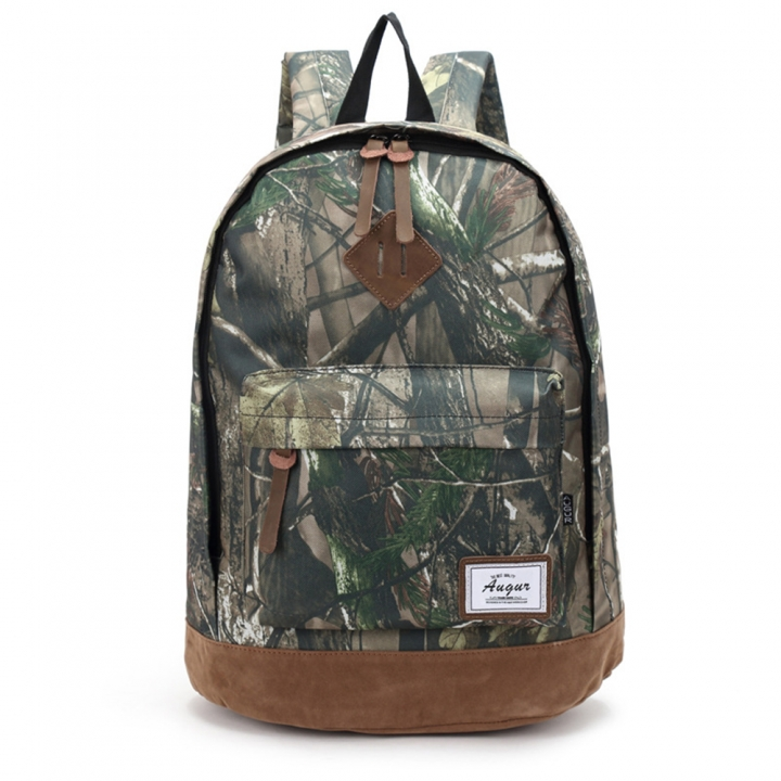 Men Women Backpack School Bag College Waterproof Oxford Travel Bags Laptop Back Packs Camouflage green one size