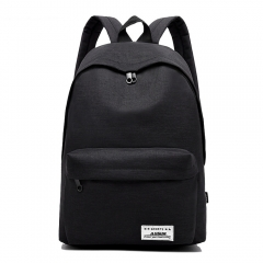 Fashion Men Backpack Woman Schoolbag Laptop Travel College School Bags black small size