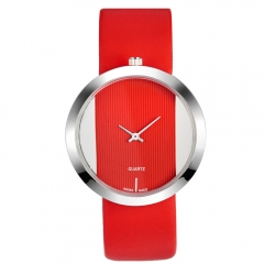 Fashion Watches Women Quartz Watch Female Wristwatches red