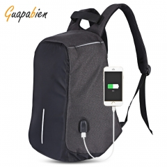 Multifunction Outdoor Bag Laptop Travel USB Interface Men Backpack black one size