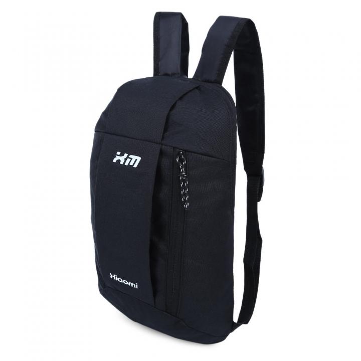 Water Resistant Lightweight Patchwork Bucket Shape Backpack Unisex Portable Bag black one size