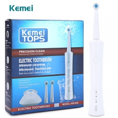Electric Toothbrush Rotating Waterproof Electric Toothbrush Oral Hygiene Dental Care Toothbrush white