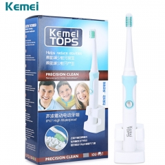 Rechargeable Electric Toothbrush Ultrasonic Whitening Teeth Professional Teeth Protection Brush blue white