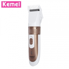 Rechargeable Electric Hair Clipper Adjustable Beard Man Hair Trimmer Remover Hair Cutting Machine gold eu plug