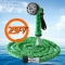 25FT Expandable Garden Hose Pipe with 7 in 1 Spray Gun green one size