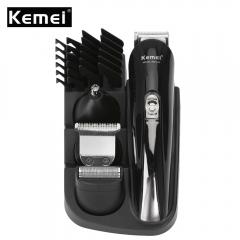 Kemei KM-500 Multifunctional 8 in 1 Electric Hair Trimmer Clipper black eu plug