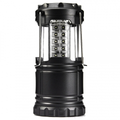 Ultra Bright Collapsible 30 LED Camping Lanterns Lights for Hiking Emergencies black led