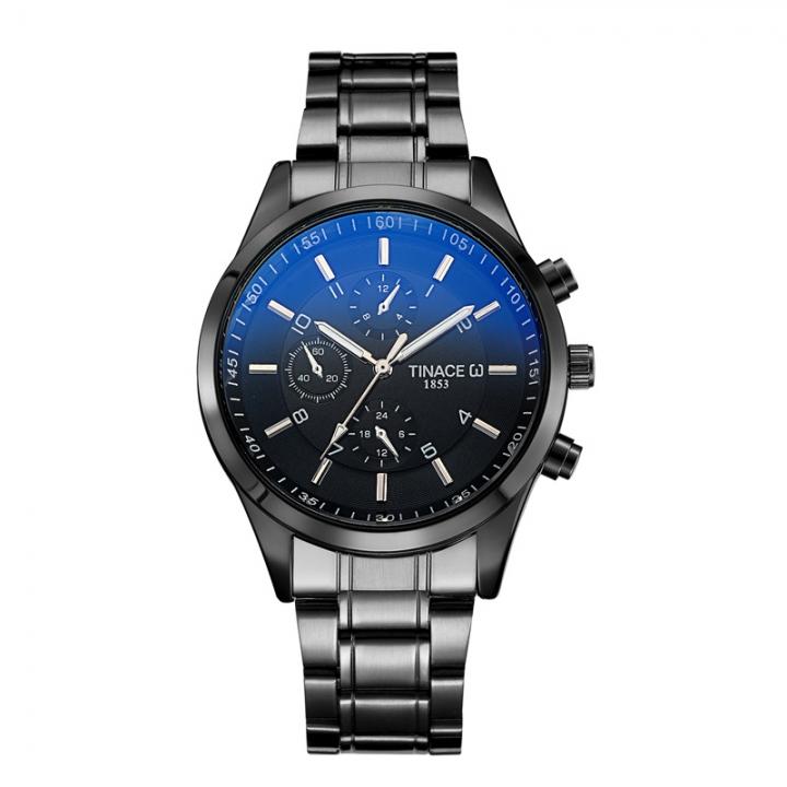 Men Watches Luxury Famous Quartz Watch Men Clock Male Wrist Watch For Men Quartz-watch black one size