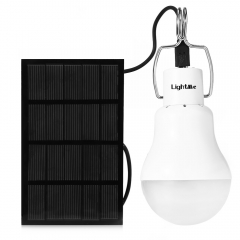 Lightme S - 1200 1.5W 130LM Portable LED Bulb Light Garden Solar Powered Energy Lamp white one size 1.5W