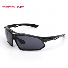 Polarized Outdoor Sports Sunglasses Protection Cycling Glasses  Fishing Golf Running Driving Eyewear black