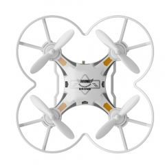 SBEGO - 124 2.4G 4CH 6-Axis Gyro RTF Remote Control Pocket Quadcopter Toy Kid Gift white one size