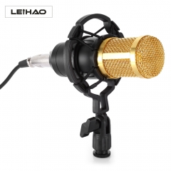 LEIHAO BM - 800 Professional Condenser Microphone for Studio Broadcasting Recording balck 20Hz BM-800