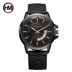 Sport Men Watches  Luxury Quartz Watches Waterproof Men Army Military Wrist Watch with Calendar black one size