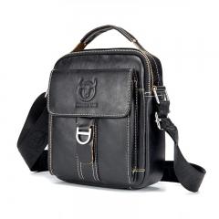 Men Shoulder Bag Vintage Style Casual Crossbody Male Messenger Bags black one size