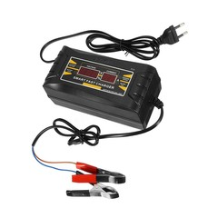 Full Automatic Car Battery Charger 110V/220V To 12V 6A/10A Smart Fast Power Charging