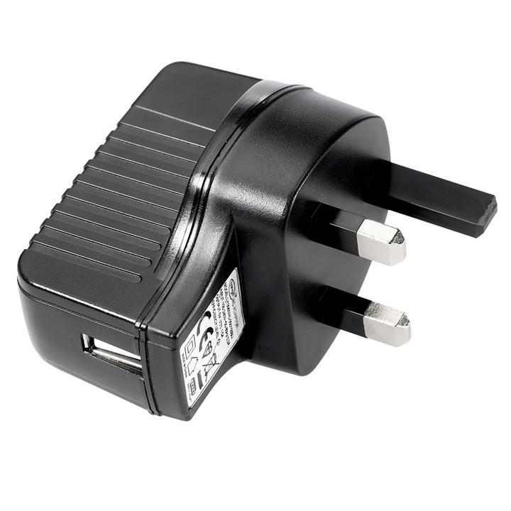 Charger UK USB Travel Charger Adapter Fast Charging black uk plug