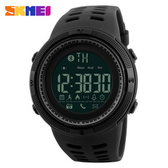 SKMEI Men Smart Multifunctional Sports Digital Watch Calories Pedometer Reminder black one size
