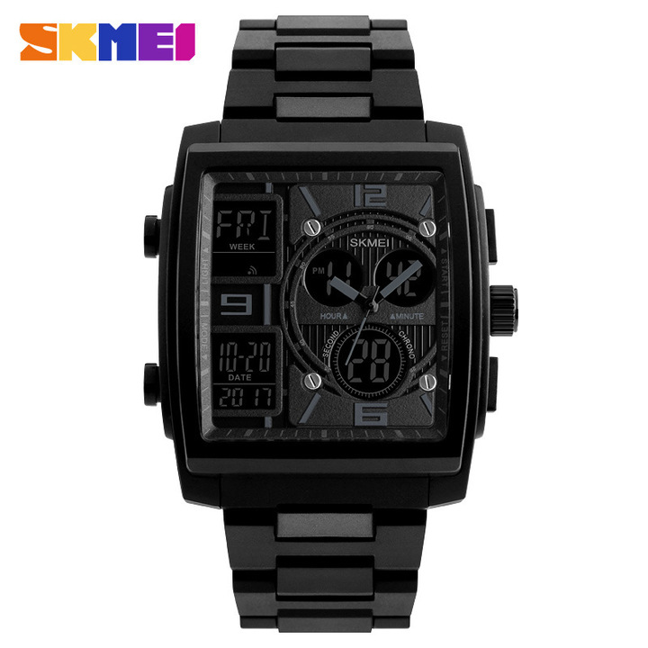 Men Sports Watches Male Clock Fashion Mens Electronic Wrist Watches Digital Watch black one size