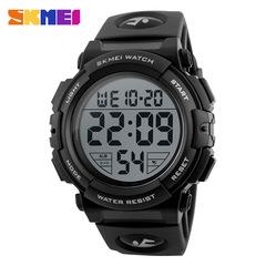 Sports Watches Men Outdoor Fashion Digital Watch Multifunction 50M Waterproof Wristwatches black one size