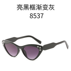 Fashion Cat Eye Sunglasses Women Men Sun Glasses Eyewear Eyeglasses PC Frame HD Lens UV400 c1 one size