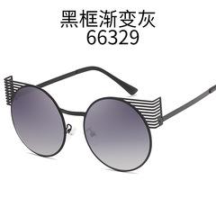 Round Sunglasses Women Men's Brand Design Sunglasses Retro Cat eye Eyewear for Women Vintage Goggles c1 one size