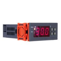90~250V 10A Digital Temperature Controller Thermocouple -50~110 Celsius Degree with Sensor black
