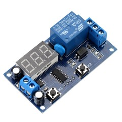 Multifunction Delay Time Module Switch Control Relay Cycle Timer DC 12V as picture