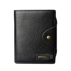 High Quality Wallet Driver License Bag PU Leather Car Driving Document Card Passport Holder Purse black one size