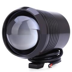 U2 1200LM 30W Upper Low Flash Motorcycle Headlight LED Motorbike Fog Lamp Spot Light black one size