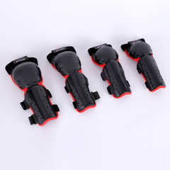 Knee Pads Elbow Pads Wrist Protector Protection Kids Scooter Cycling Roller Skating Protective Set red one size