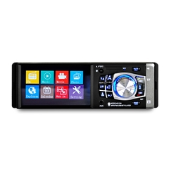 4.1 inch Car MP5 Vehicle-mounted Radio Multimedia Player Audio Video Rear Camera Remote Control black one size