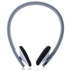 Wireless Bluetooth V4.1 + EDR Headset Handsfree Intelligent Voice Support  Cellphones Tablet WHITE