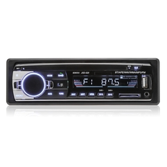 JSD-520 Bluetooth Stereo Audio In-Dash FM MP3 Radio Player AUX-IN SD USB DC 12V MP3 Car Radio Player black one size