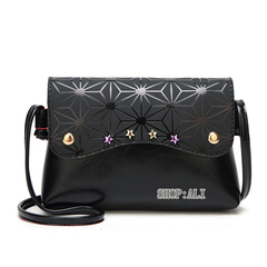 Trendy Lightweight Handbags Small Bag Fashion Women Shoulder Bag Crossbody Cute Square Bag black one size