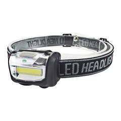 YWXLight COB LED Headlamp Mini Outdoor Camping Headlight black led