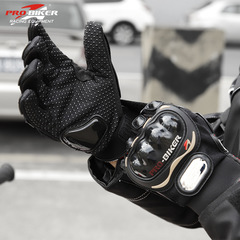 Motorcycle Gloves Riding Racing Tactical Gloves Protective Gear Cycling Motocross Gloves black m