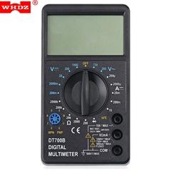 WHDZ DT700B Digital Multimeter AC DC Tester Voltmeter black