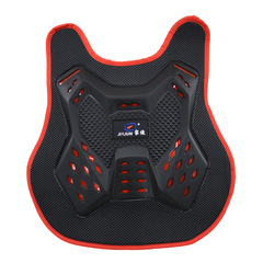 Kid Racing Motorcycle Armor Motorcycles Riding Chest Protector Armor Motocross Off-road Racing Vest black