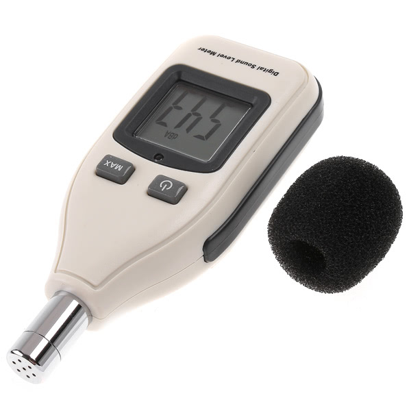 Digital Sound Level Meter Decibel Logger 30-130dB as picture