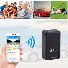 Portable Tracking Device Satellite Positioning Against Theft Vehicle person Moving Objects Tracking black one size