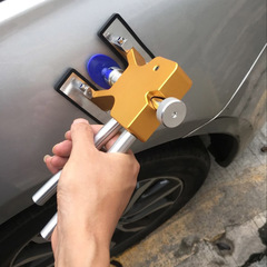 Car Body Paintless Dent Puller Lifter Repair Tool +18 Tabs Car Dent Remover gold one size