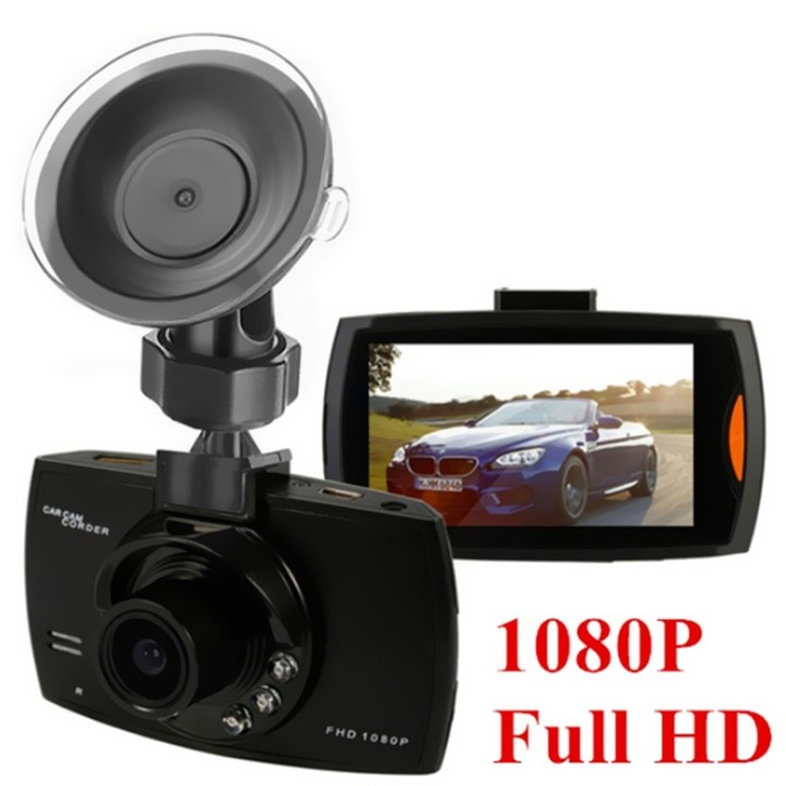 "2.4"" Car Video Recorder Full HD 1080P Video Mini Car Dvr 120 Degree Wide Angle Rear View Camera black one size"