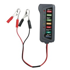 Digital Battery Alternator Tester 6-LED Display Battery Teste as picture one size