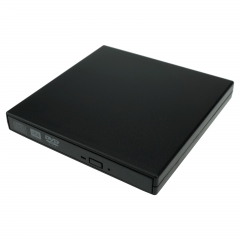 External USB DVD Combo Player CD RW Burner Portable Optical Drive For Laptop PC Black As picture